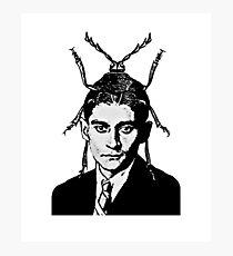 Franz Kafka Metamorphizes Photographic Print