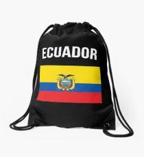 Ecuador-Flagge Rucksackbeutel