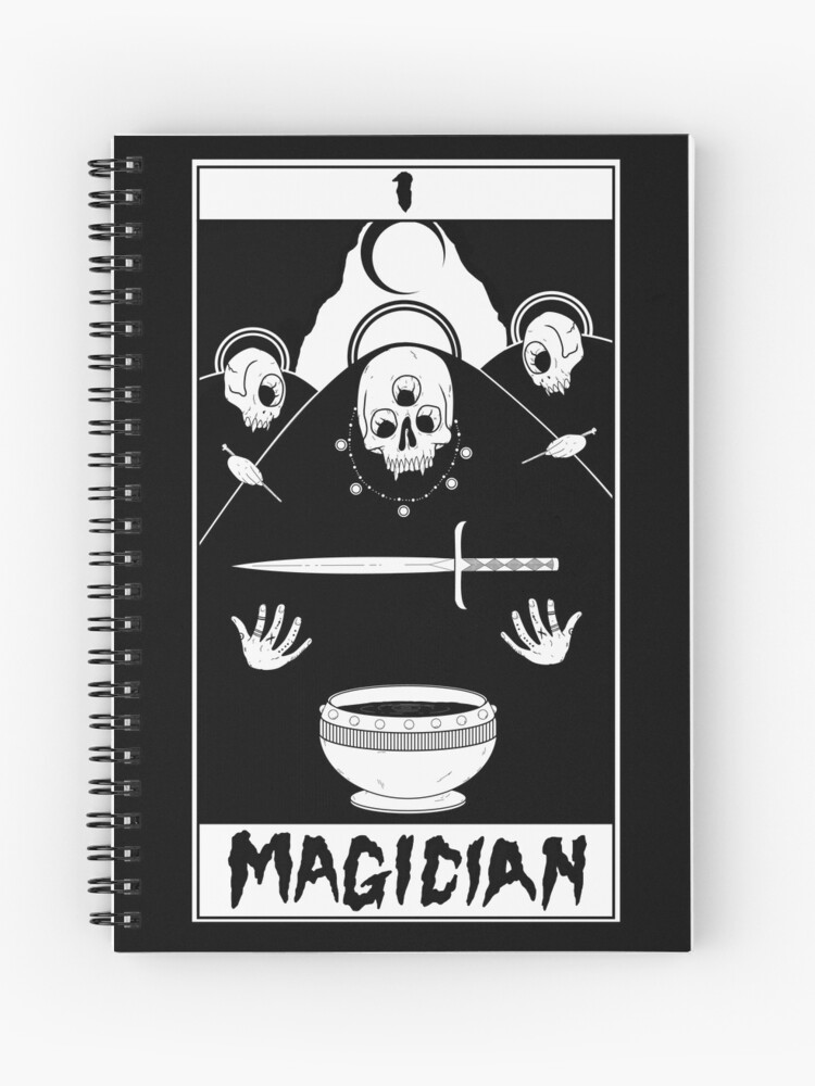 The Magician Tarot Card | Spiral Notebook