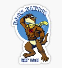 Dook Patrol Sticker