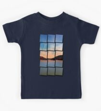 Danube river valley | waterscape photography Kids Clothes