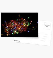 Christmas Lights Postcards