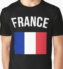 France Flag Graphic T-Shirt