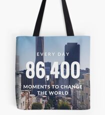 Moments of Change Tote Bag