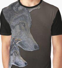 2 Wölfe /wolves Version1 Graphic T-Shirt
