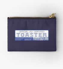 Official G Certified Toaster Studio Pouch