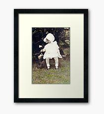 Mom and Winnie Framed Print