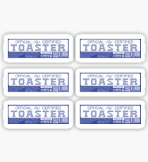 Official G Certified Toaster Sticker