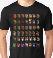 Donkey Kong Country Barrels  Unisex T-Shirt