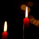 Chantry Candles by Shaun Colin Bell