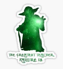 The Greatest Teacher, Failure Is. Sticker