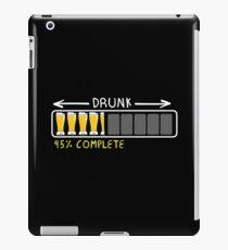 Drunk Loading 45% Complete Beer iPad Case/Skin