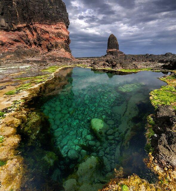 Pulpit Rock Pool by Robert Mullner