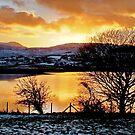 Sunset Over Trawsfynnydd by AnnDixon