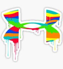 The Rainbow Of Under Armour Sticker