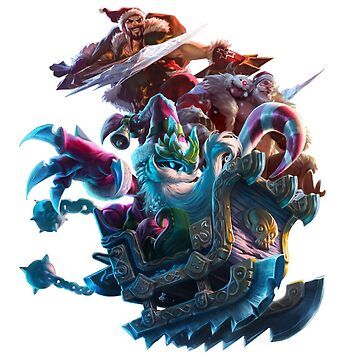 League of Legends Christmas Santa design by Sinflow