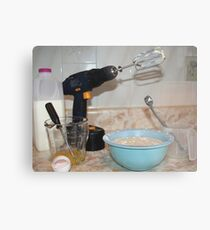 Handyman/ Baker Metal Print