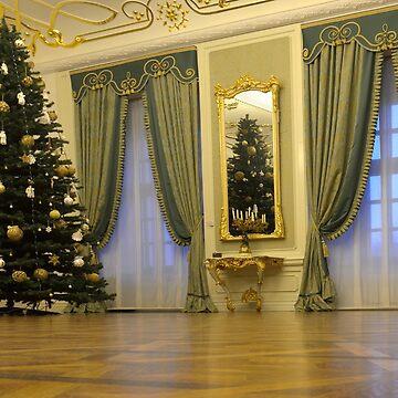 Mir Castle Ballroom, Belarus by kasianowak