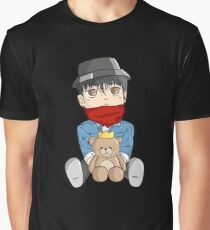 G-Dragon/Kwon Ji-Yong Teddy Chibi Graphic T-Shirt