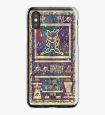 Pokémon - Ancient Mew Card iPhone Case/Skin