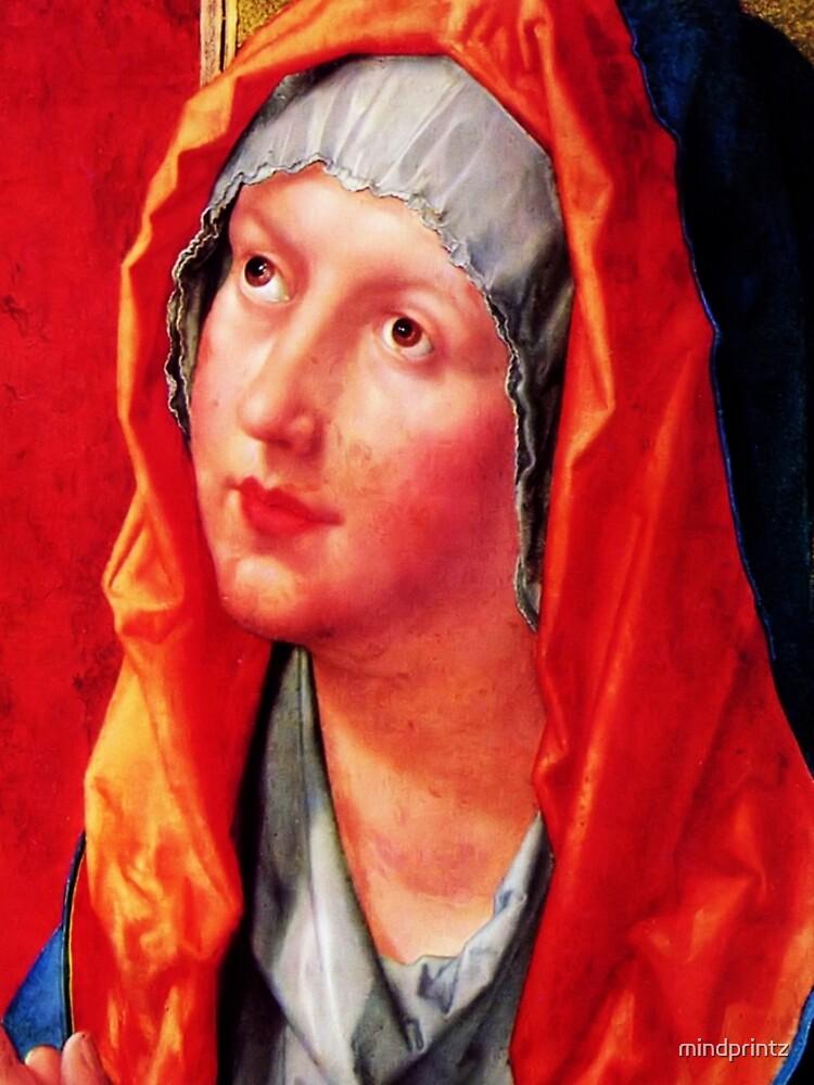 Betende Maria by mindprintz