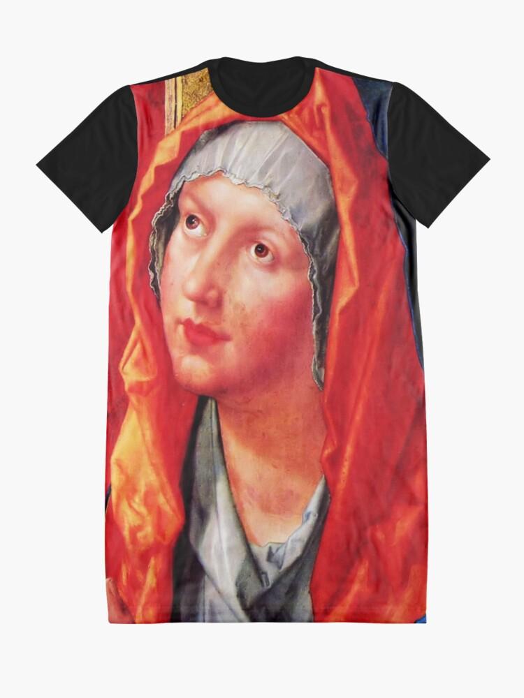 Alternate view of Betende Maria Graphic T-Shirt Dress
