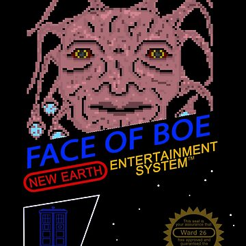 NINTENDO: NES Face Of Boe by thedoctor37