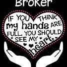 Herz eines Vermittlers. Wenn du denkst, dass meine Hände voll sind, solltest du mein Herz sehen. von flamingarts