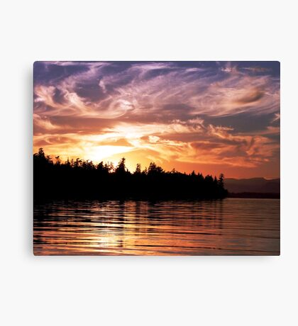 Painted Sky (1) Canvas Print