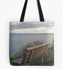 """""""Bench To Contemplate On"""" Tote Bag"""