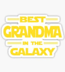 Best grandma in the galaxy Sticker