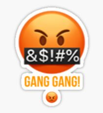 Gang gang emoji Sticker