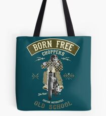 Born Free - Custom Motorcycle Tote Bag