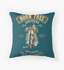 Born Free - Custom Motorcycle Dekokissen