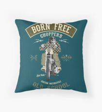 Born Free - Custom Motorcycle Kissen