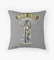 Born Free - Custom Motorcycle Sitzkissen