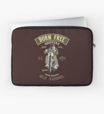 Born Free - Custom Motorcycle Laptoptasche