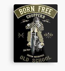 Born Free - Custom Motorcycle Metallbild