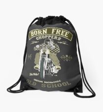 Born Free - Custom Motorcycle Turnbeutel