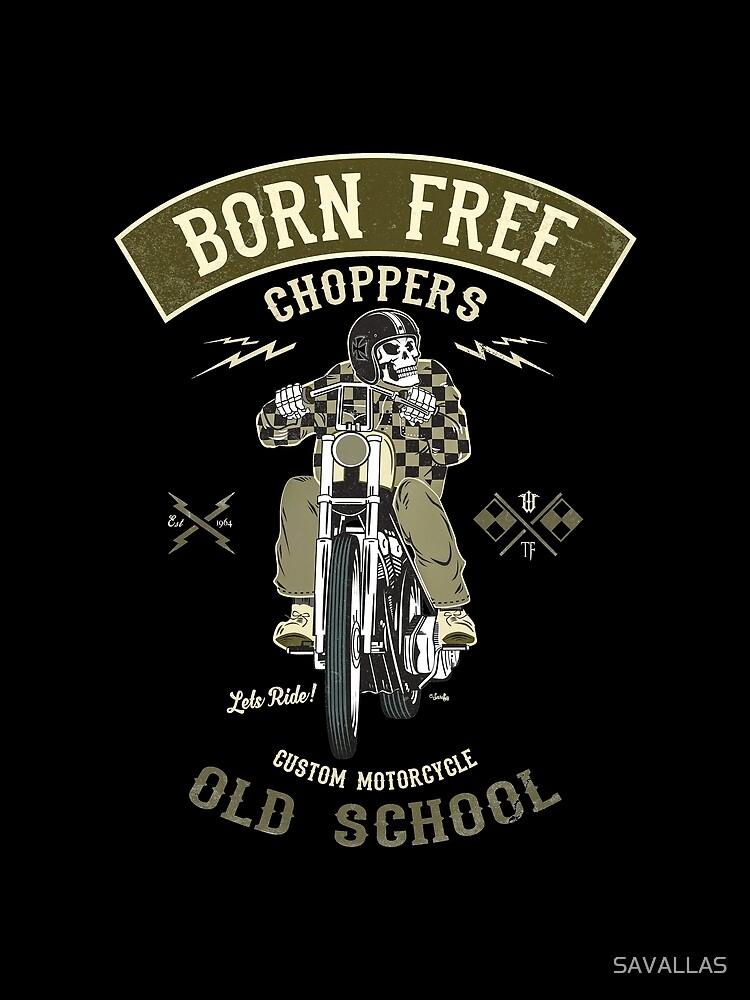 Born Free - Custom Motorcycle von SAVALLAS