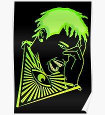 Neon 3d Goosebumps Poster