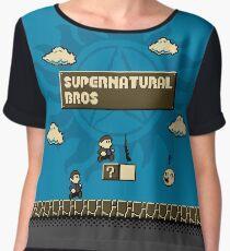 Supernatural Bros. Chiffon Top