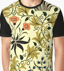 Celadine, vintage pattern by William Morris Graphic T-Shirt
