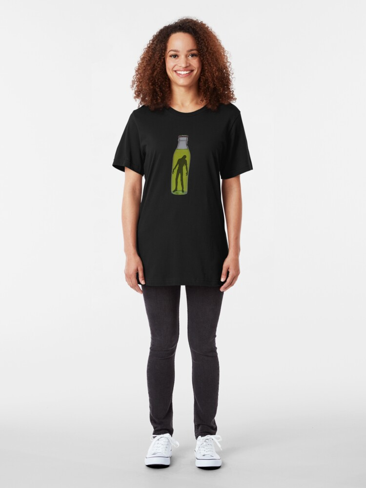 Alternate view of Bottled Zombie Slim Fit T-Shirt
