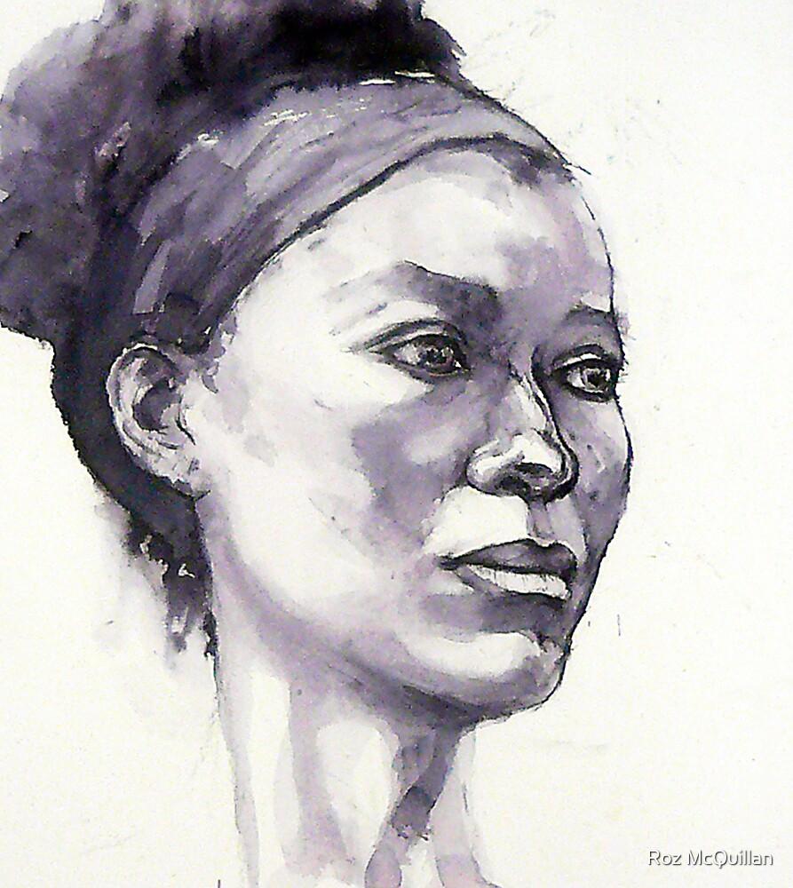 Portrait of Susannah by Roz McQuillan