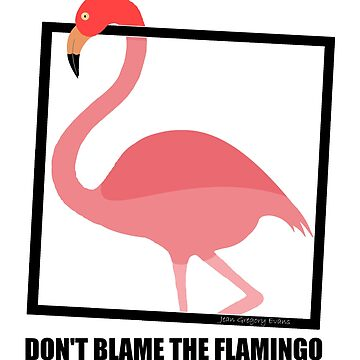 DO NOT BLAME THE FLAMINGO by jgevans