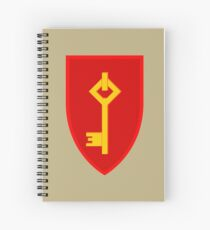 Royal Gibraltar Regiment (UK) - Tactical Recognition Flash Spiral Notebook