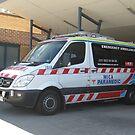 Mica Paramedic Vehicle - Latrobe Valley Hospital by Bev Pascoe
