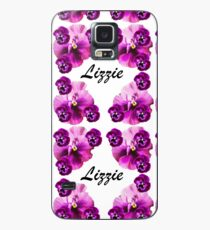 Personalised flowers Case/Skin for Samsung Galaxy