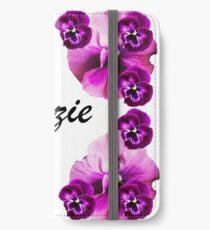Personalised flowers iPhone Wallet/Case/Skin